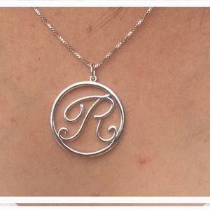 Belk Silverworks Made in Italy Silver R Necklace
